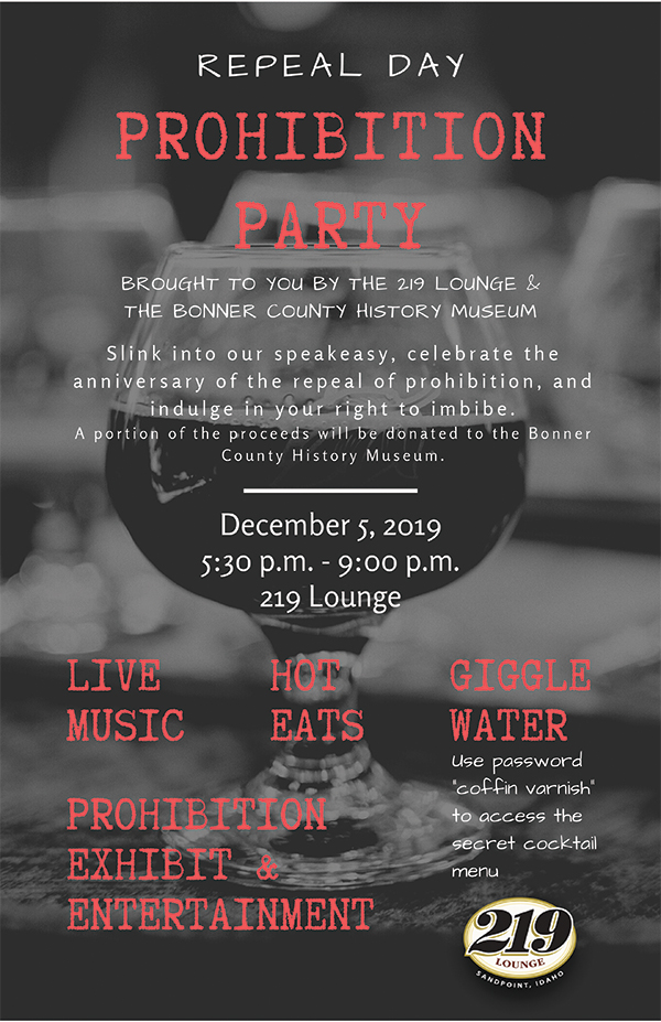 Prohibition Party at 219